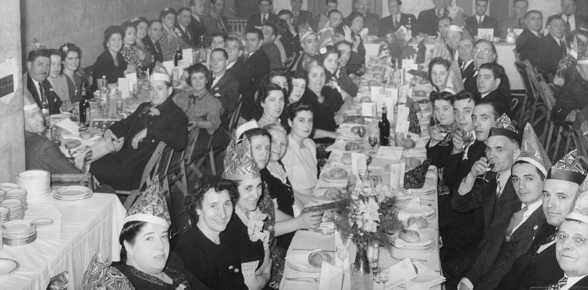 Euzko-Etxea New Years 1940s