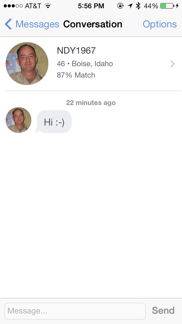 Joys of online dating