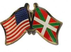 Basque-American Pin