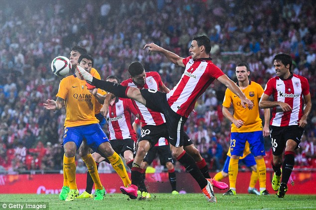 ©Getty Images| Aduriz led Athletic Bilbao to their first major trophy in 31 years, the Supercopa de Espana against Barcelona