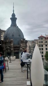 Alhóndiga rooftop bar