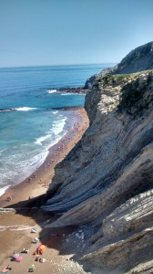Zumaia Flysch and beach