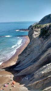 Zumaia Flysch and beach