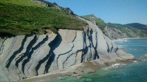 View of the coast and Flysch