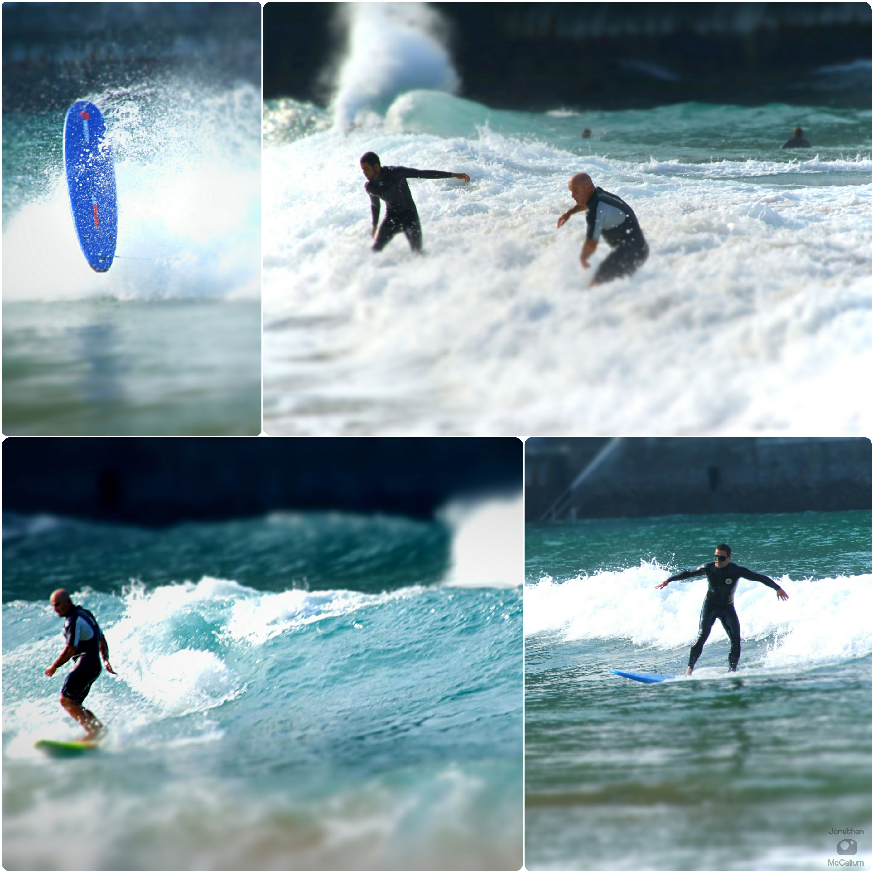 Surfing with Aitor, Derek, Axi & Friends