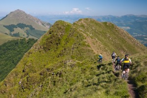 Biking High in the Basque Mountains
